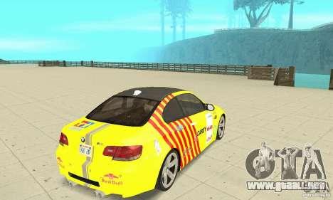 BMW M3 2008 para el motor de GTA San Andreas
