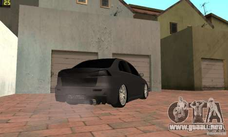 Mitsubishi Lancer Evolution Dag Style para GTA San Andreas left