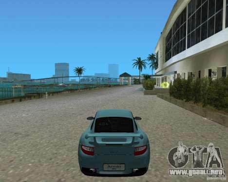 Porsche 911 GT2 para GTA Vice City vista lateral izquierdo