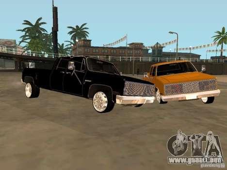 Chevrolet Silverado Lowrider para GTA San Andreas left