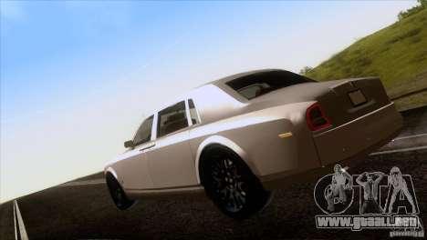 Rolls Royce Phantom Hamann para vista lateral GTA San Andreas