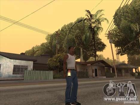 Nuevo Pack de armas nacionales para GTA San Andreas segunda pantalla
