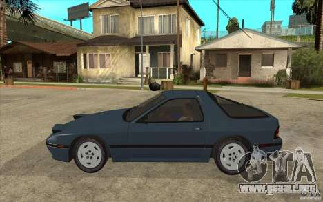 Mazda RX7 FC3S Stock para GTA San Andreas left