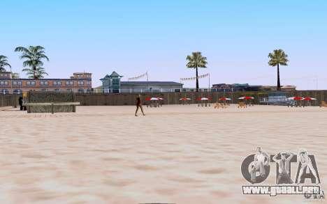 Reality Beach v2 para GTA San Andreas tercera pantalla
