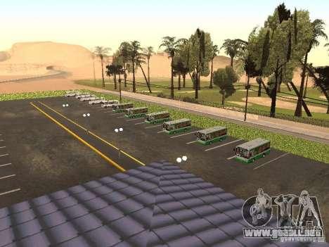 Bus 5 v. 1.0 para GTA San Andreas segunda pantalla