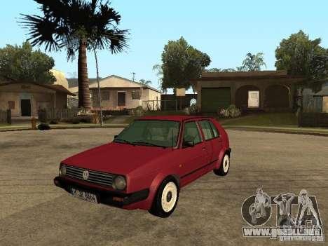 Volkswagen Golf MKII 5dr para GTA San Andreas