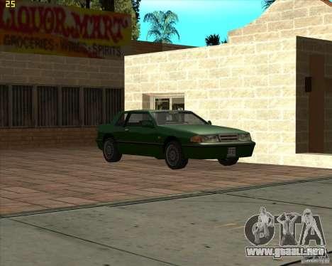 Car in Grove Street para GTA San Andreas novena de pantalla