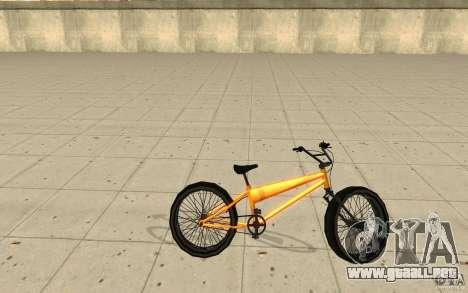 BMX Long Big Wheel Version para GTA San Andreas left