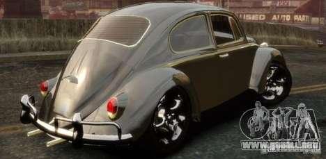 Volkswagen Fusca para GTA 4 left