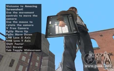 Netbook MSI para GTA San Andreas segunda pantalla