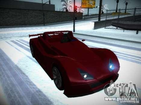 Lada Revolution para GTA San Andreas vista hacia atrás
