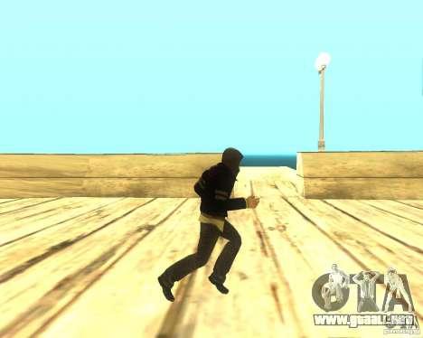 Alex Mercer ORIGINAL para GTA San Andreas sucesivamente de pantalla