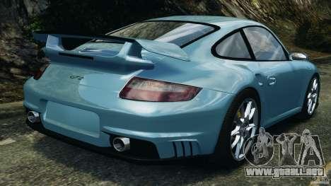 Porsche 997 GT2 para GTA 4 Vista posterior izquierda
