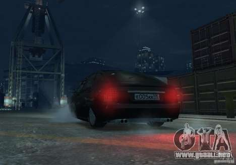 Hatchback LADA priora para GTA 4 vista interior
