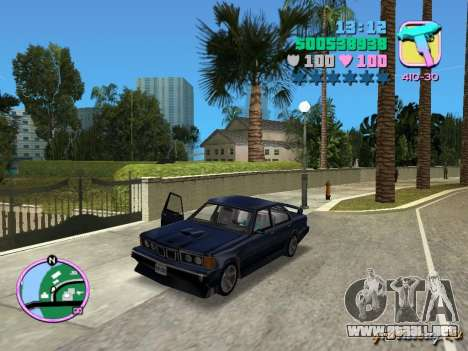 BMW 635 CSi para GTA Vice City