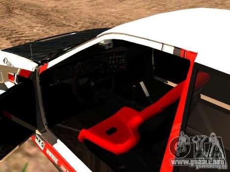 Toyota AE86 Coupe para visión interna GTA San Andreas
