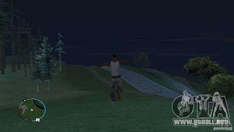 GTA IV HUD para una pantalla ancha (16:9) para GTA San Andreas sucesivamente de pantalla