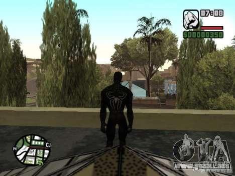 Enemigo del hombre araña en la reflexión para GTA San Andreas quinta pantalla