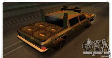 New Rancher para la visión correcta GTA San Andreas