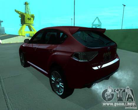 Subaru Impreza WRX STI Stock para GTA San Andreas left