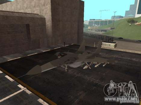 MIG-29 de la COD MW2 para GTA San Andreas left