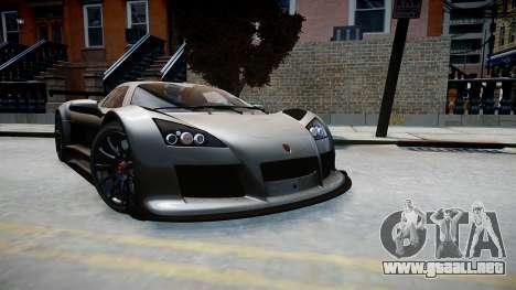 Gumpert Apollo Sport 2011 para GTA 4 visión correcta