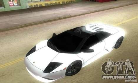 Lamborghini Murcielago LP640 Roadster para GTA Vice City