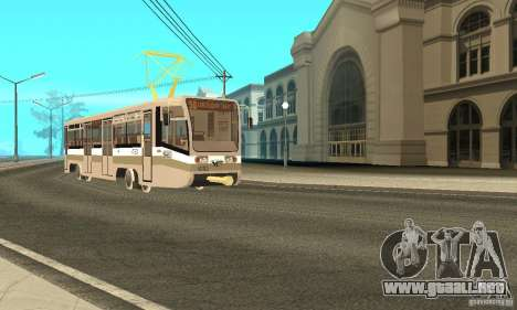Tranvía 71-619 CT (KTM-19) para GTA San Andreas