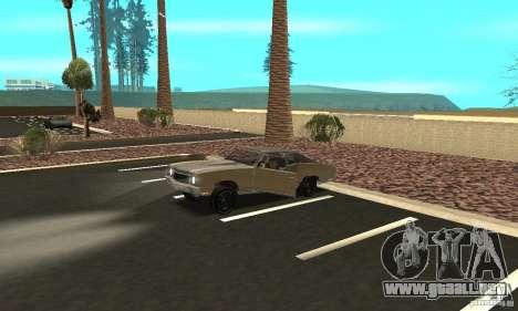 Chevy Monte Carlo [F&F3] para la vista superior GTA San Andreas