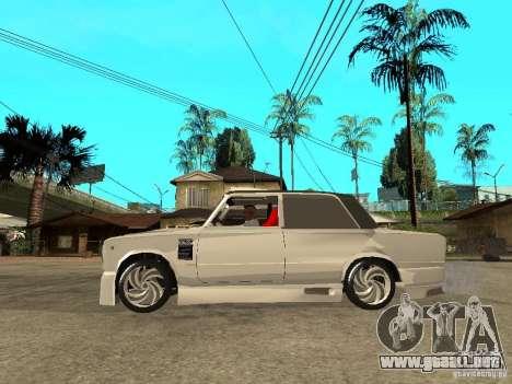 VAZ 2101 coche Tuning estilo para GTA San Andreas left