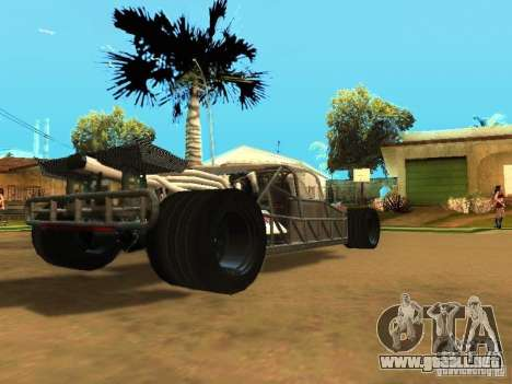 Fast & Furious 6 Flipper Car para la vista superior GTA San Andreas