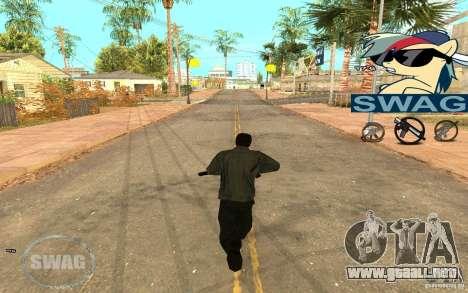 C-HUD Pony SWAG para GTA San Andreas