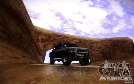 GAZ 2402 4 x 4 PickUp para vista inferior GTA San Andreas