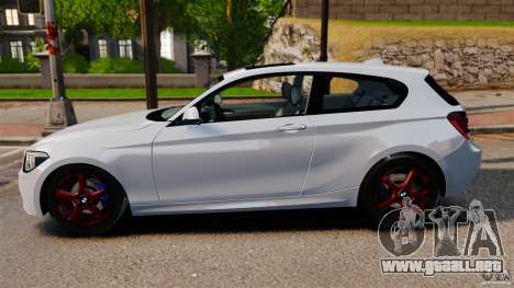 BMW 135i M-Power 2013 para GTA 4 left
