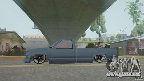 Chevrolet Silverado Mini Truckin 1996 para la visión correcta GTA San Andreas