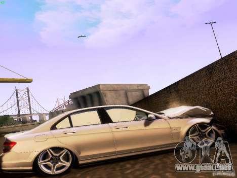 Mercedes-Benz C36 AMG para la visión correcta GTA San Andreas