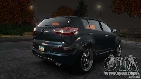 Kia Sportage 2010 v1.0 para GTA 4 visión correcta