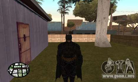 Dark Knight Skin Pack para GTA San Andreas tercera pantalla