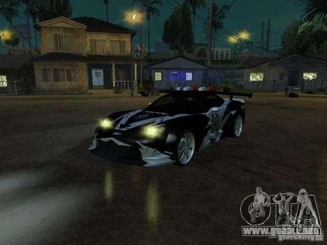 Chevrolet Corvette C6 de NFS MW para GTA San Andreas
