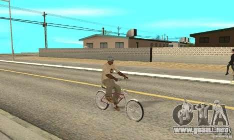 Lowrider Bicycle para la visión correcta GTA San Andreas