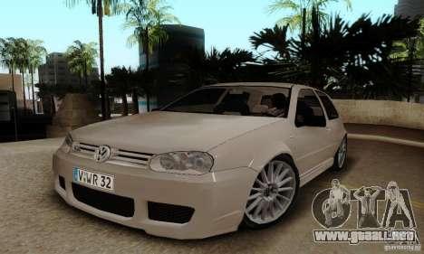 Volkswagen Golf GTI R32 para GTA San Andreas