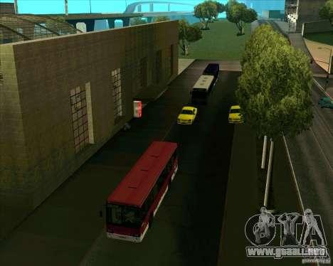 Priparkovanyj transporte v1.0 para GTA San Andreas sucesivamente de pantalla