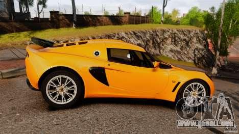 Lotus Exige 240 CUP 2006 para GTA 4 left