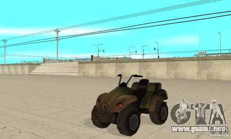 ATV de TimeShift para GTA San Andreas