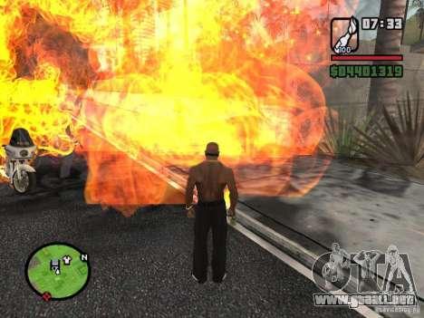 Molotov-cosacos para GTA San Andreas segunda pantalla