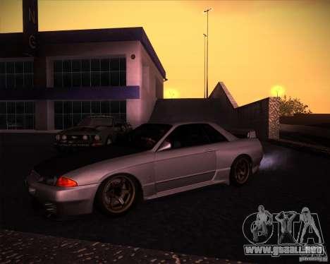 Nissan Skyline (R32) SHE para GTA San Andreas left