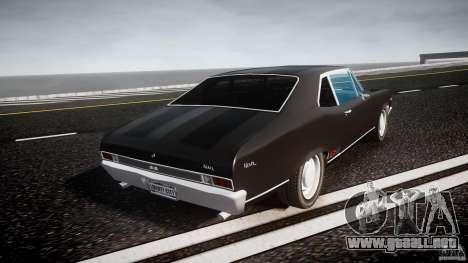 Chevrolet Nova 1969 para GTA 4 vista lateral