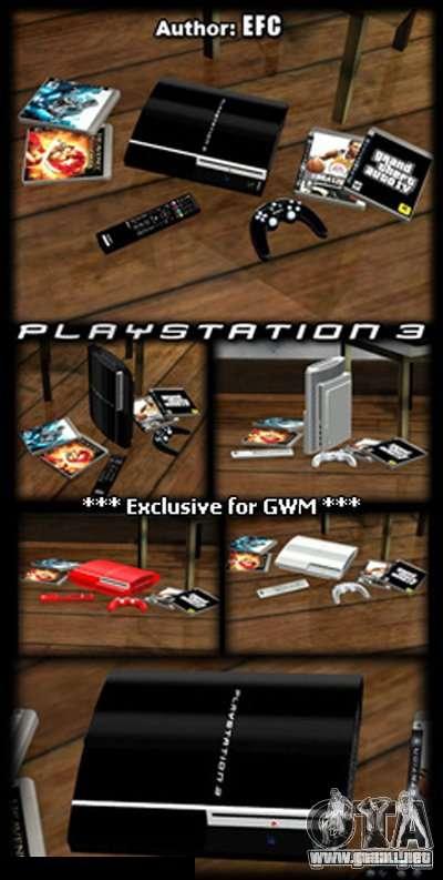 PLAYSTATION 3 para GTA San Andreas segunda pantalla