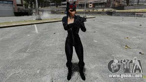 Mujer Gata para GTA 4 adelante de pantalla
