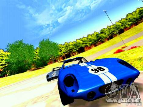 Shelby Cobra Daytona Coupe v 1.0 para la vista superior GTA San Andreas